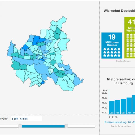 Interaktive Map Programmierung von CTNM | Internetagentur aus Hamburg