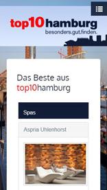 top10hamburg Mobile Ansicht
